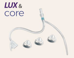 LUX & CORE Thin Tubing and Domes (1 size)